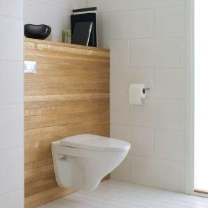 Seinä-WC IDO Seven D 76115 valkoinen kova kansi Slow Close