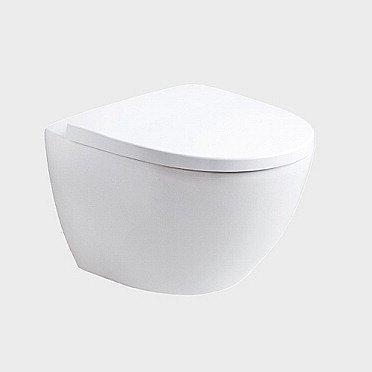 Seinä-WC IDO Seven D Image 76120 valkoinen kova kansi