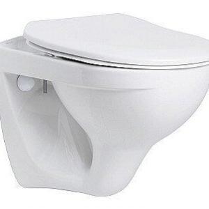 Seinä-WC IDO Trevi 77190 valkoinen pehmeä kansi