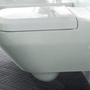 Seinä-WC Villeroy & Boch Sentique 5622 375x590 mm Valkoinen Alpin + istuinkansi