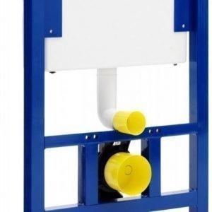 Seinä-WC-elementti Gustavsberg Triomont GBG 2903 6 l painonappi/huoltoluukku päällä