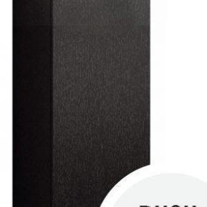 Seinäkaappi Forma 70x30x15 cm Push Open musta tammi