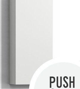 Seinäkaappi Forma 70x30x15 cm Push Open valkoinen
