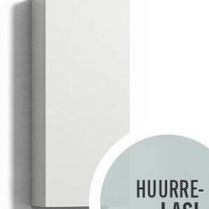 Seinäkaappi Forma 70x30x15 cm huurrelasi/valkoinen