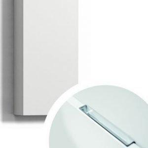 Seinäkaappi Forma 70x30x15 cm integroitu vedin 6 valkoinen