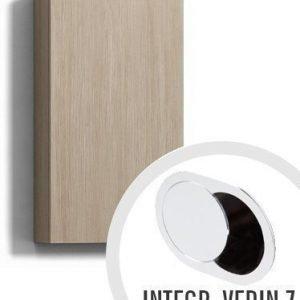 Seinäkaappi Forma 70x30x15 cm integroitu vedin 7 vaalea tammi