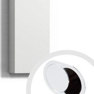 Seinäkaappi Forma 70x30x15 cm integroitu vedin 7 valkoinen