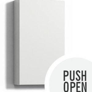 Seinäkaappi Forma 70x40x15 cm Push Open valkoinen