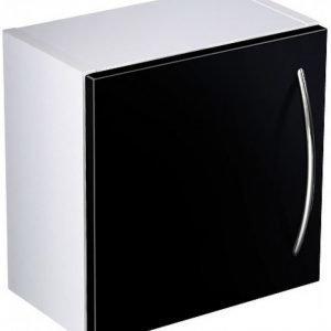 Seinäkaappi Gustavsberg Logic 1820 Sinful Black 300x300x160 mm