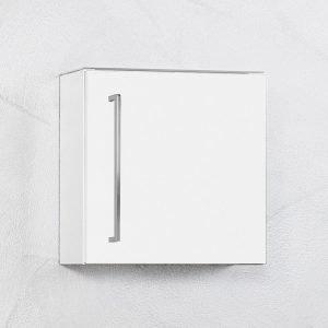 Seinäkaappi Harmony Picard by Finnmirror 40 valkoinen