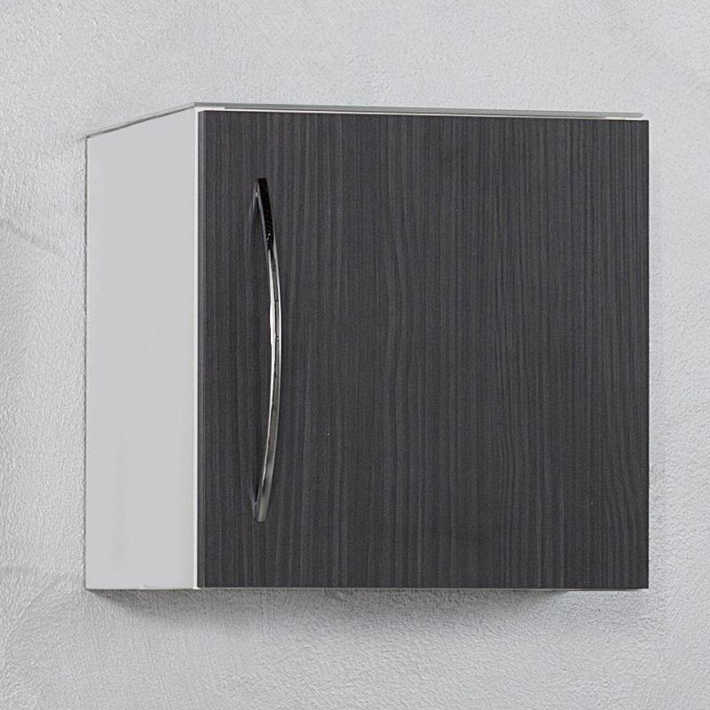 Seinäkaappi Picard by Finnmirror 40 400x404x295 mm valkoinen/musta
