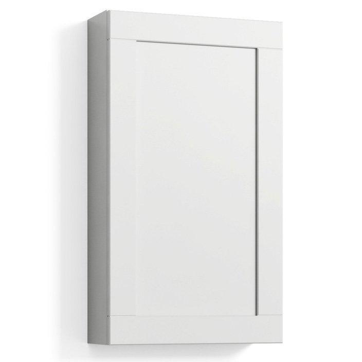 Seinäkaappi Svedbergs Stil 40x70 cm valkoinen kehys