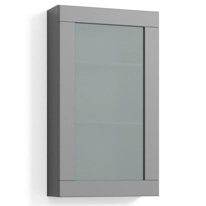 Seinäkaappi Svedbergs Stil Frost 40x70 cm harmaa kehys huurrelasi
