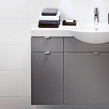 Sivukaappi IDO Select Large 297x620x490 mm laatikolla tummanharmaa