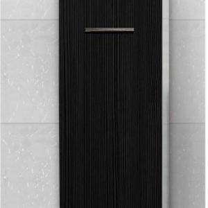Sivukaappi Picard by Finnmirror 120 300x1206x295 mm valkoinen/musta