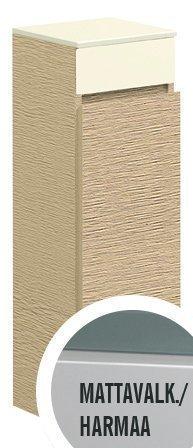 Sivukaappi Villeroy & Boch Memento C782 260x810x270 mm sarana vasemmalla lakattu mattavalkoinen