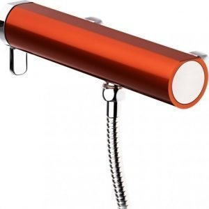 Suihkuhana Gustavsberg Coloric alumiinia punainen