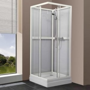 Suihkukaappi Bathlife Ideal suora 900 x 900 mm