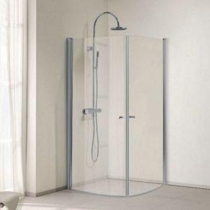 Suihkukulma Bathlife Ideal pyöreä 900 x 900 mm