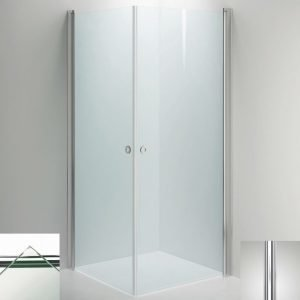 Suihkukulma Sanka LINC Angel 700x900 mm kiiltävä/lasi kirkas