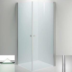 Suihkukulma Sanka LINC Angel 800x800 mm kiiltävä/lasi frost