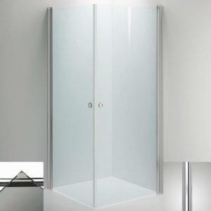 Suihkukulma Sanka LINC Angel 900x1000 mm kiiltävä/lasi savu