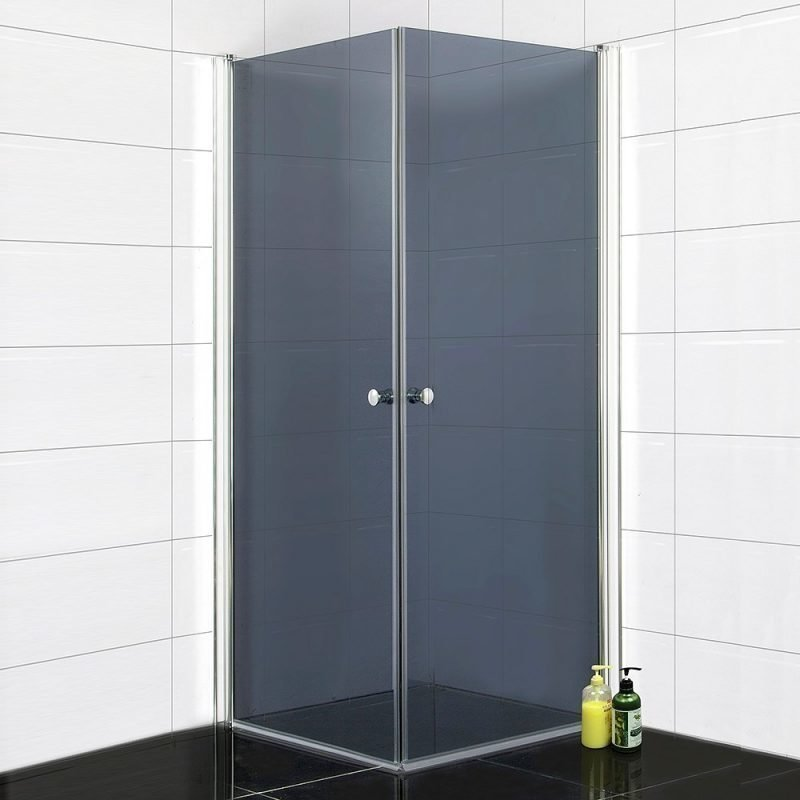 Suihkunurkka Bathlife 800 800x800 mm kulmikas tumma