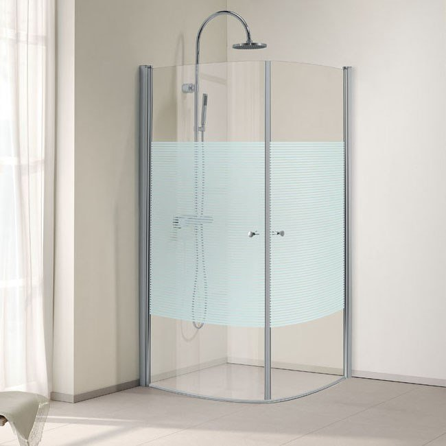 Suihkunurkka Bathlife Orio 012 900 x 900 mm huurreraidoitus
