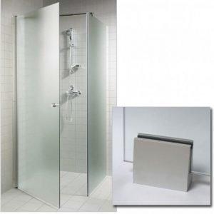 Suihkunurkka GlassHouse 80x80x200 cm mattalasi