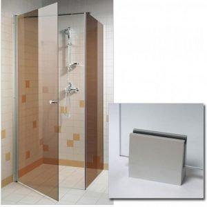 Suihkunurkka GlassHouse 80x80x200 cm pronssi lasi