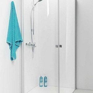 Suihkunurkka IDO Showerama 8-4 900x800 mm lasi huurre