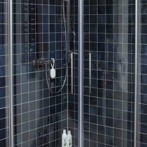 Suihkunurkka Noro Fix Trend R 89 800x900 mm hopea/lasi kirkas
