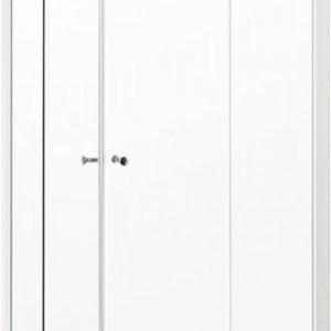Suihkunurkkaus Gustavsberg NC100G-W liukuovet 100x100 cm valkoinen