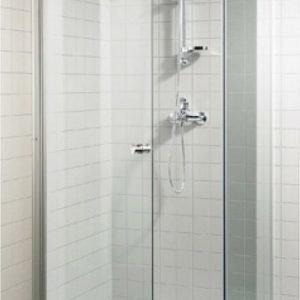 Suihkuovi GlassHouse 80x200 cm kirkas lasi