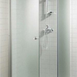 Suihkuovi GlassHouse 90x200 cm mattalasi