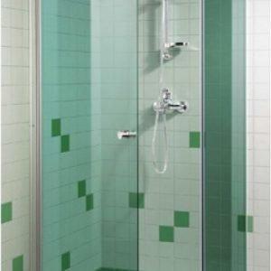 Suihkuovi GlassHouse 90x200 cm vihreä lasi