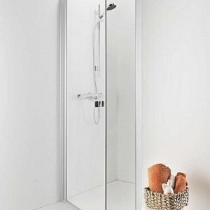 Suihkuovi IDO Showerama 8-0 900 mm 1-ovinen lasi savu