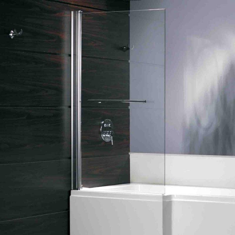 Suihkuseinä Bathlife Behag 840x1400 mm vasen