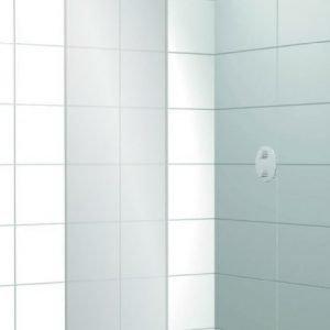 Suihkuseinä Elegance 01 harmaa satiini mittatilaus