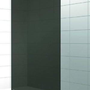 Suihkuseinä Elegance 02 musta mittatilaus