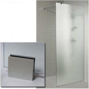 Suihkuseinä GlassHouse 80x200 cm mattalasi