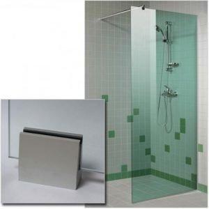 Suihkuseinä GlassHouse 80x200 cm vihreä lasi