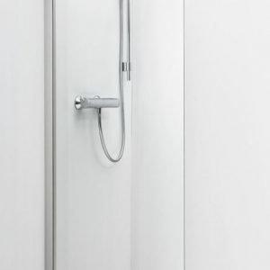 Suihkuseinä IDO Showerama 8-20 400x1950 mm kiinteä lasi kirkas