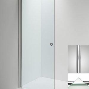 Suihkuseinä Sanka LINC Angel 570 mm kääntyvä kiiltävä/lasi frost