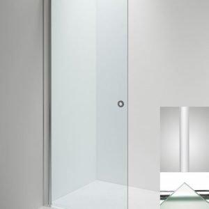 Suihkuseinä Sanka LINC Angel 670 mm kääntyvä valkoinen/lasi frost