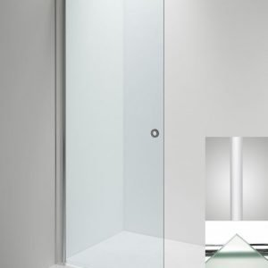 Suihkuseinä Sanka LINC Angel 770 mm kääntyvä valkoinen/lasi frost