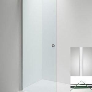 Suihkuseinä Sanka LINC Angel 770 mm kääntyvä valkoinen/lasi kirkas