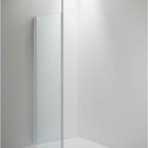 Suihkuseinä Sanka SYNC 30 erikoiskorkea kirkas lasi valkoinen profiili 400-800 mm