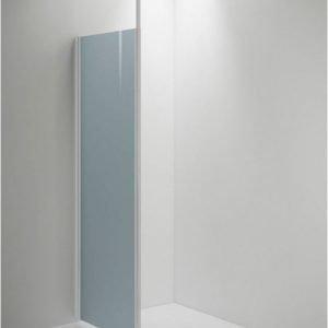 Suihkuseinä Sanka SYNC 30 erikoiskorkea savu lasi valkoinen profiili 400-800 mm