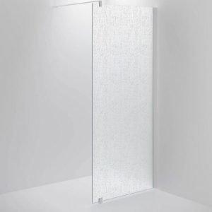 Suihkuseinä Sanka SYNC 31 chinchilla lasi valkoinen profiili 500-900 mm